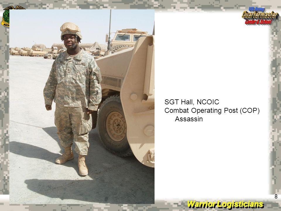 Warrior Logisticians 9 (COP) Assassin MKT entrance