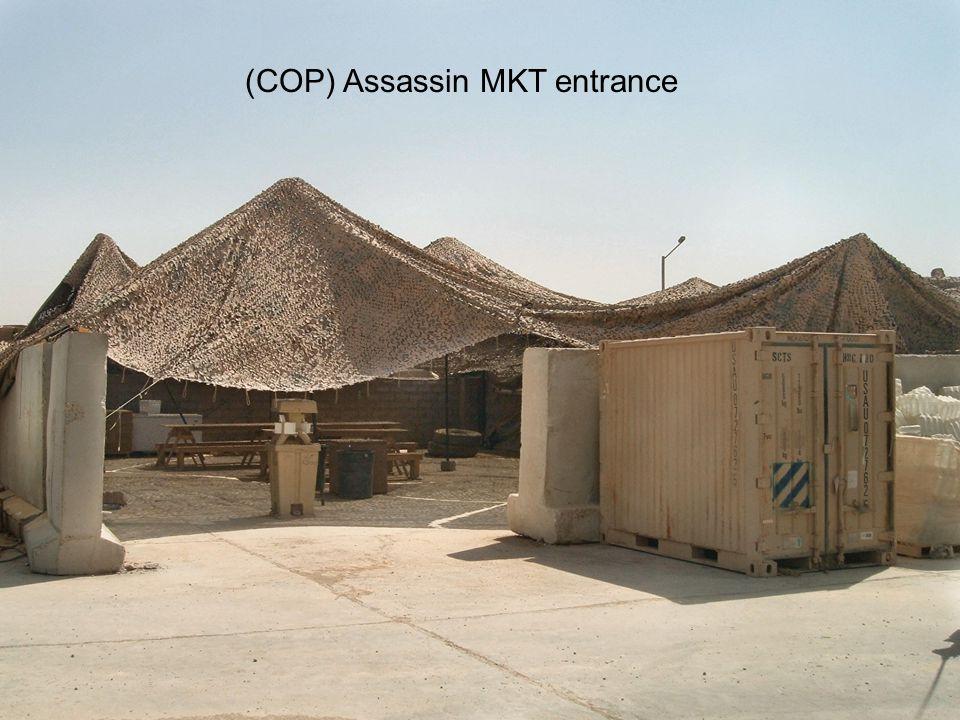 Warrior Logisticians 10 COP Assassin Serving Line
