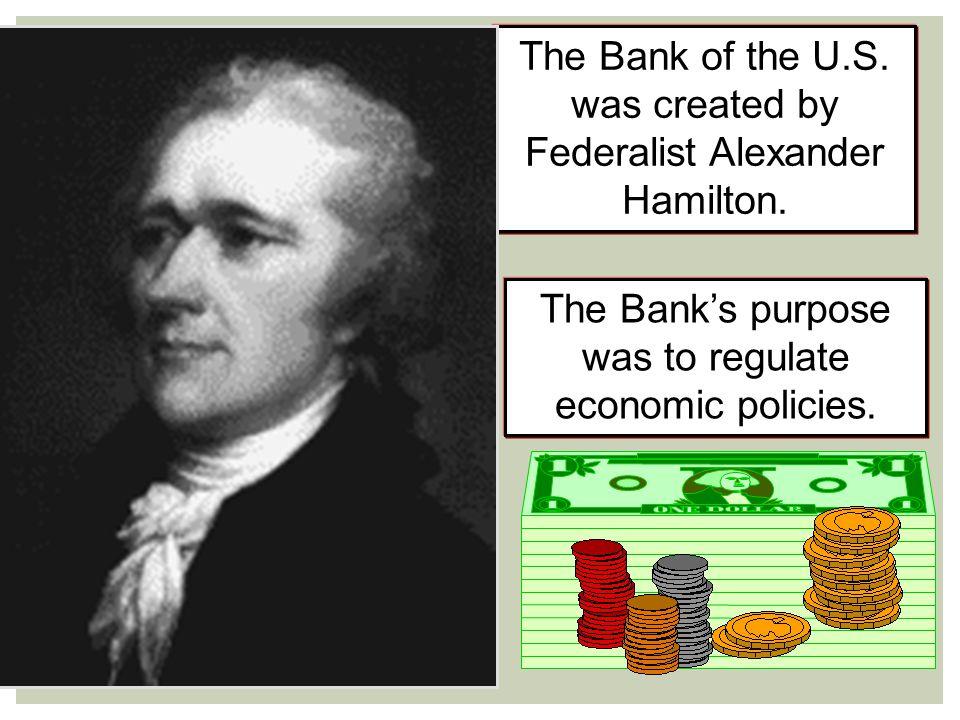 President Andrew Jackson fights the monster bank. (1833)
