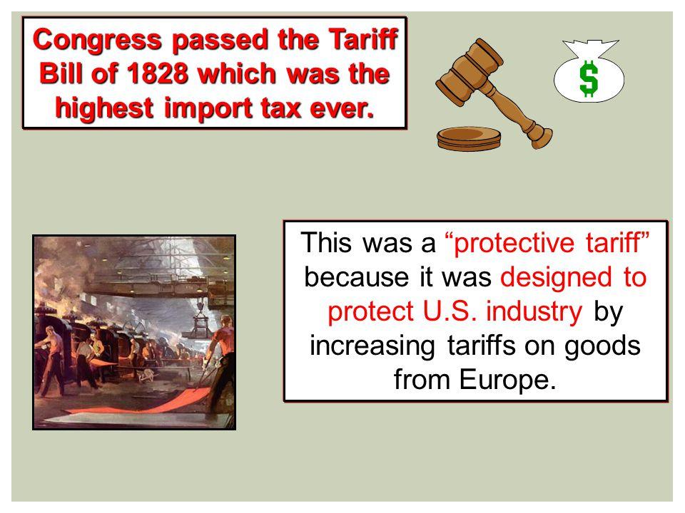 Tariff Bill of 1828