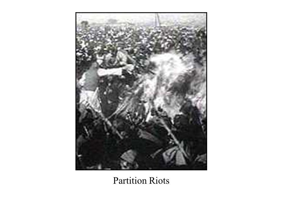 Partition Riots