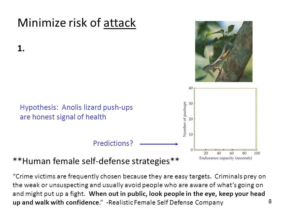 8 Minimize risk of attack 1.