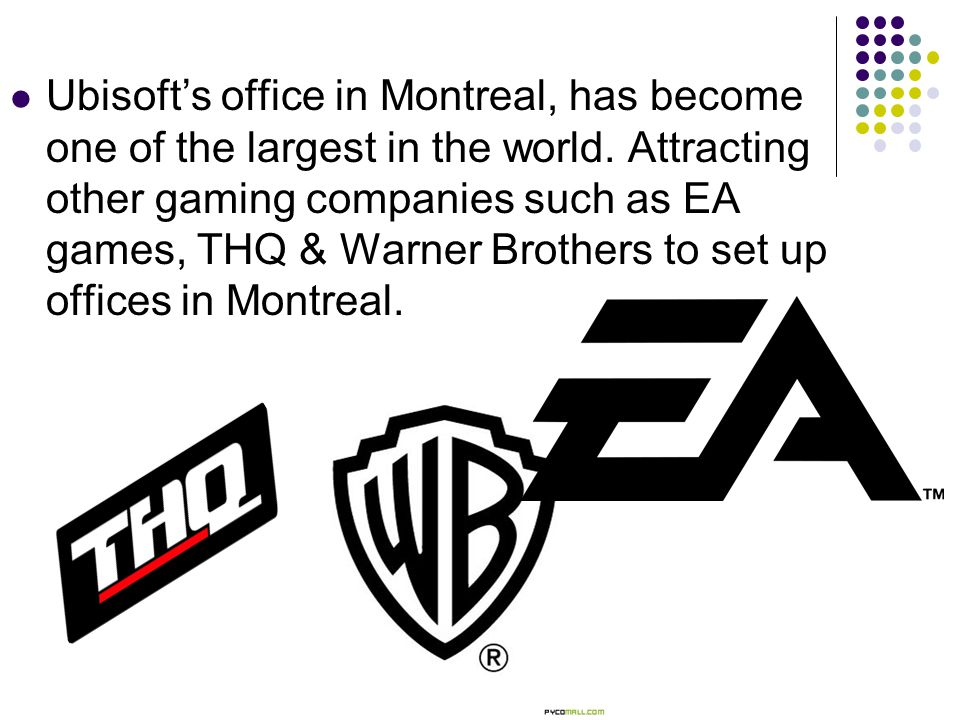 Ubisoft's office in Montreal, has become one of the largest in the world.