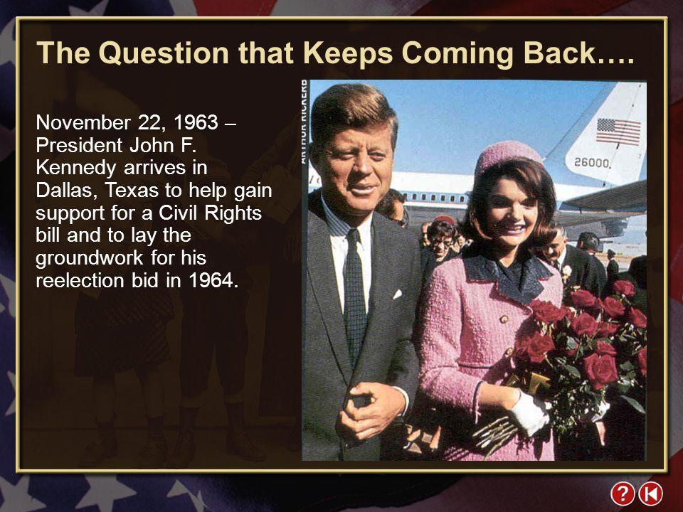 FYI 4-1 November 22, 1963 – President John F.