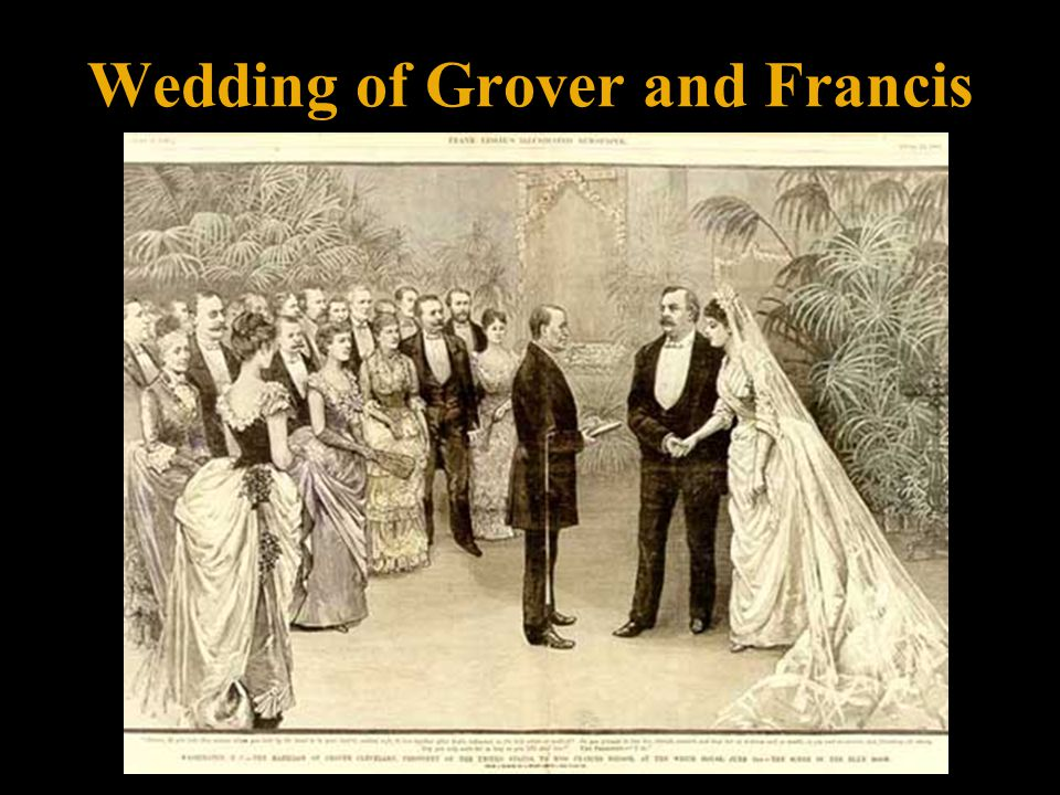 Wedding of Grover and Francis