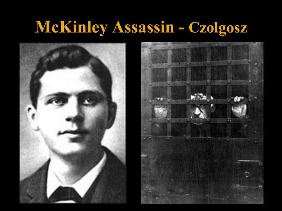 McKinley Assassin – Czolgosz (Police Mug Shot)