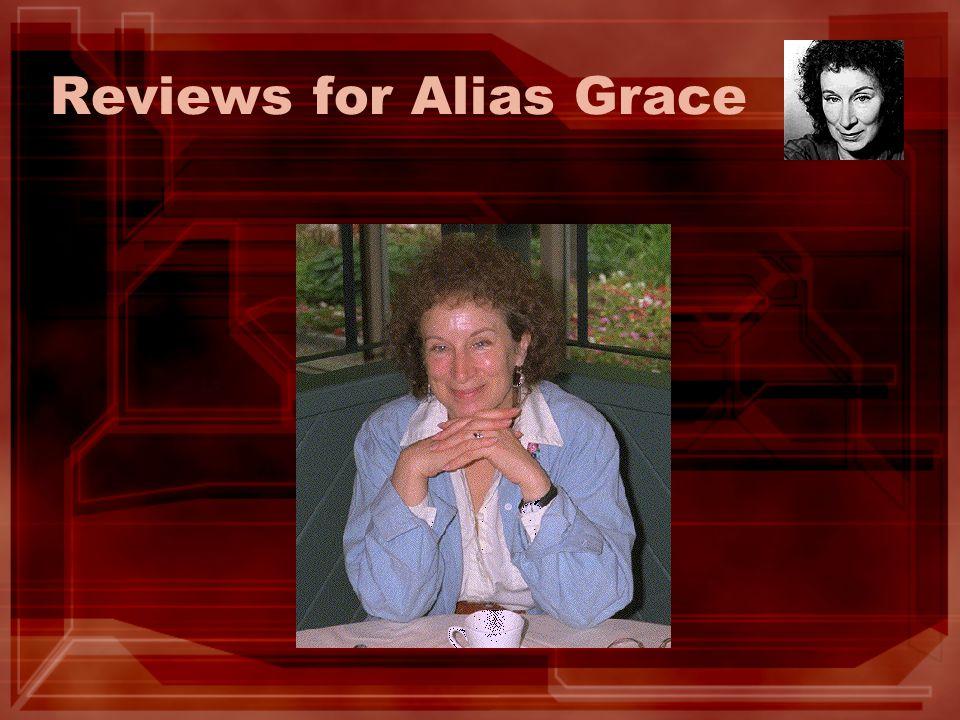 Reviews for Alias Grace