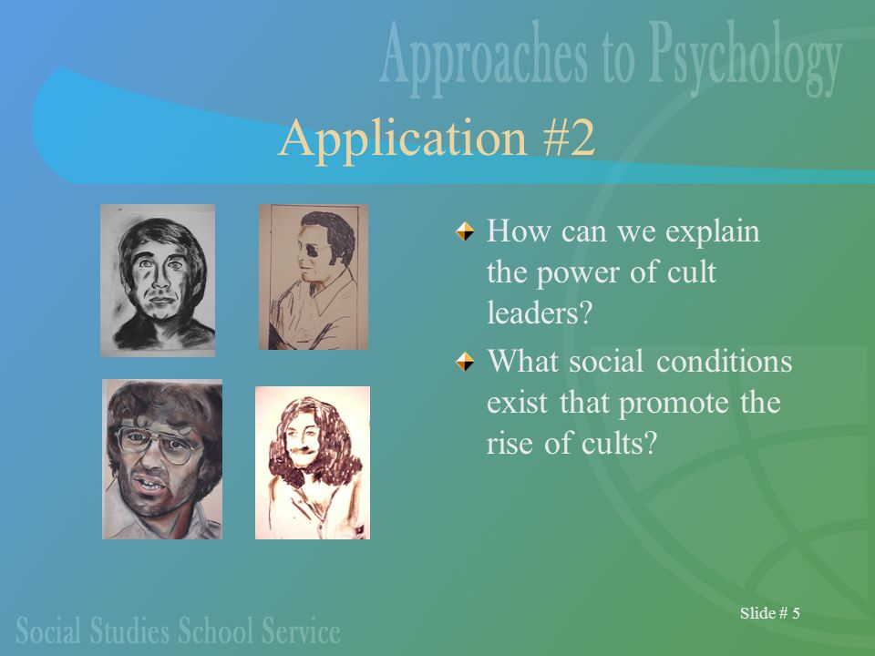 Slide # 56 The Cognitive Approach