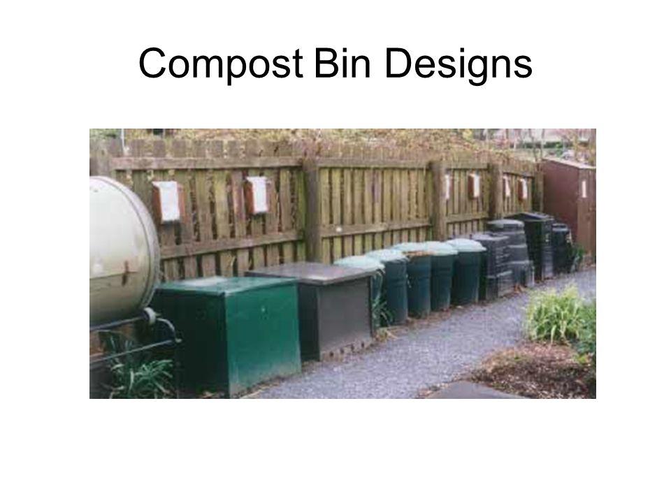 Compost Bin Designs