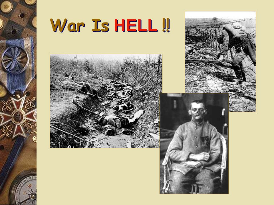 The Somme – July, 1916 e 60,000 British soldiers killed in one day.