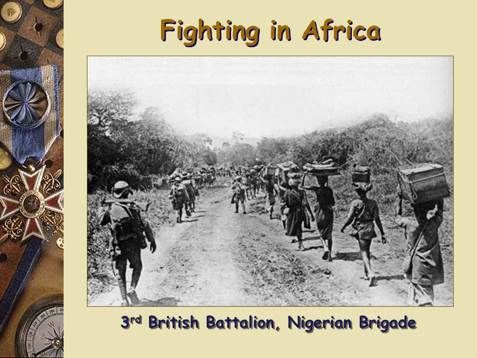 Fighting in Africa British Sikh Mountain Gunners Black Soldiers in the German Schutztruppen [German E.