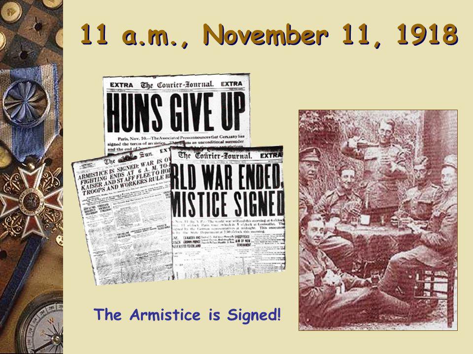 1918 Flu Pandemic: Depletes All Armies 50,000,000 – 100,000,000 died 50,000,000 – 100,000,000 died
