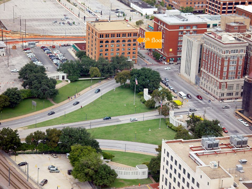 School Book Depository LHO got a job in this building.