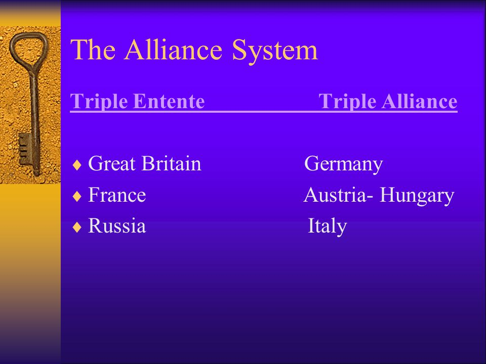 Militarism & Arms Race.