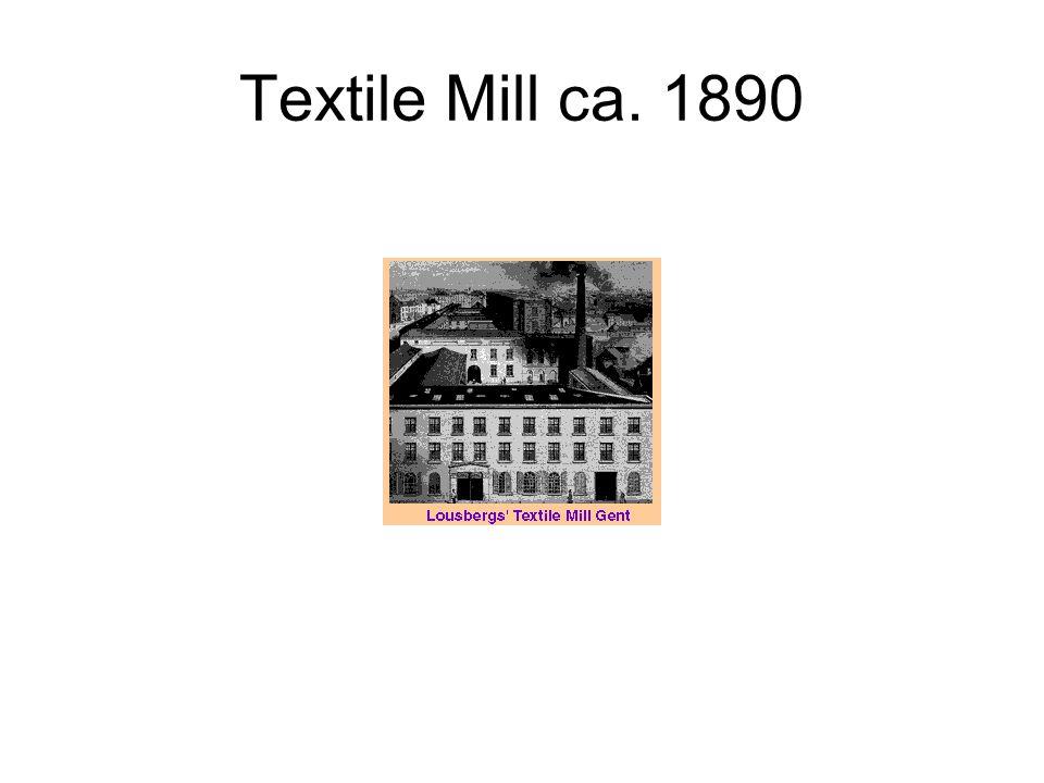 Textile Mill ca. 1890