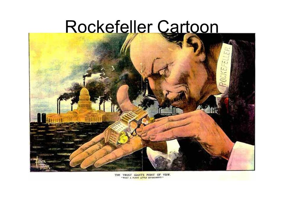 Rockefeller Cartoon