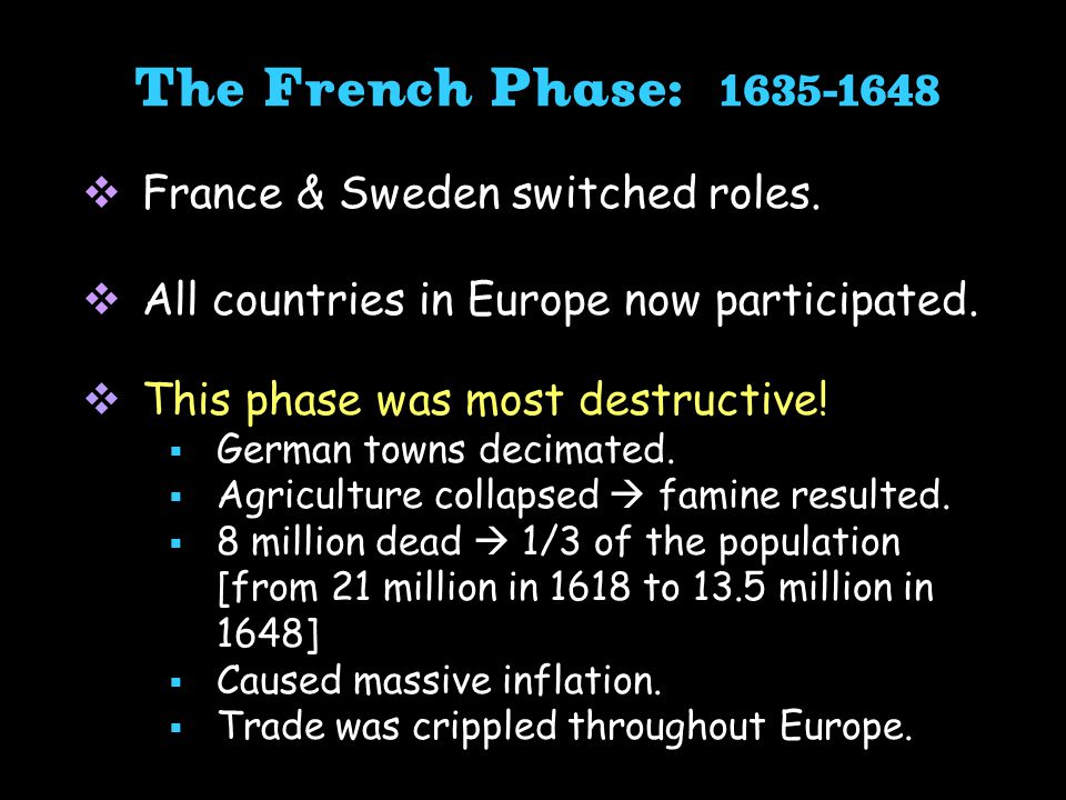  France & Sweden switched roles. All countries in Europe now participated.