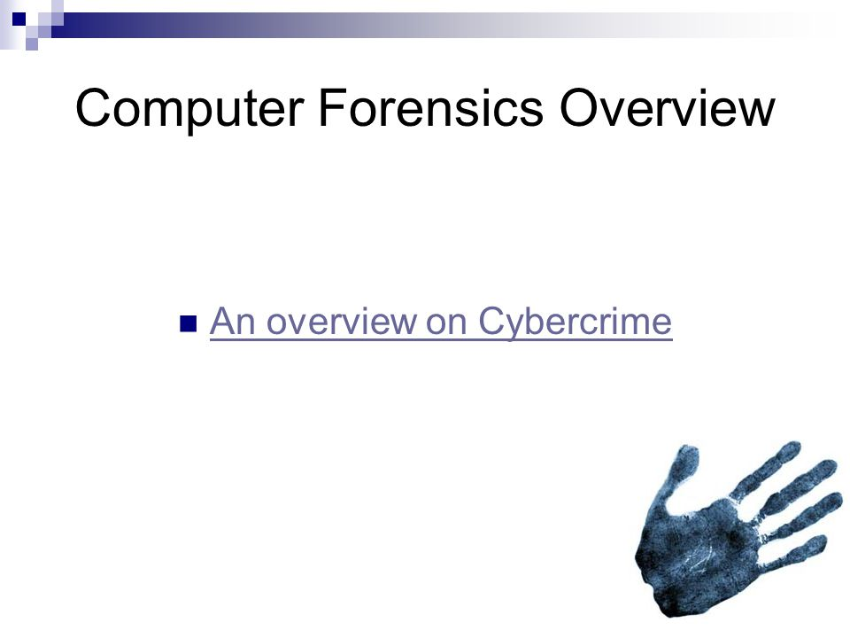 Cases that used computer forensics Michael Jackson trial  Law enforcement used computer forensics to track down Jackson's previous email messages and his internet history.