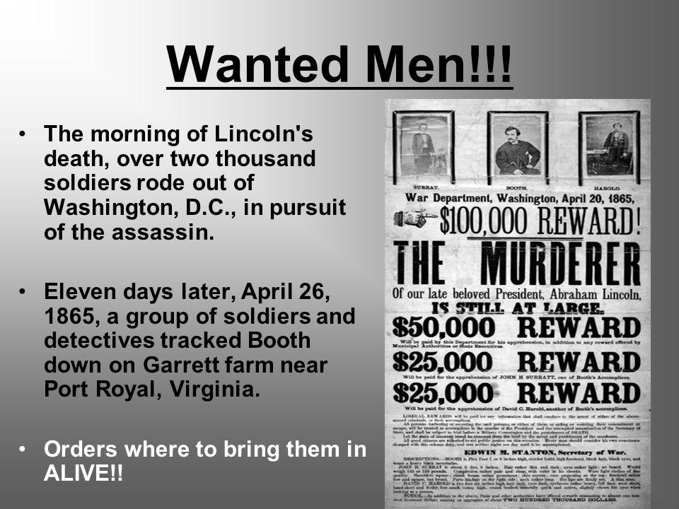 Wanted Men!!.
