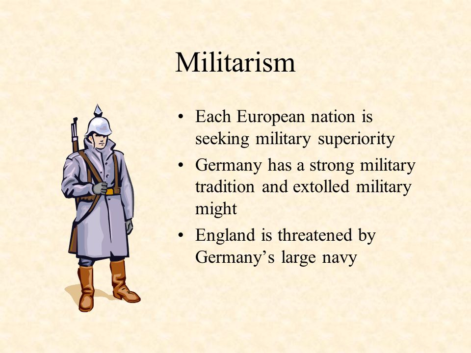IMPERIALISMIMPERIALISM The Fundamental Causes of WWI NATIONALISMNATIONALISM MILITARISMMILITARISM