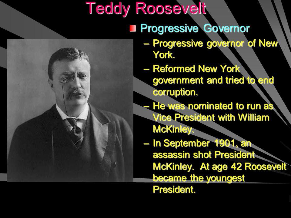 Progressive Governor –P–Progressive governor of New York.