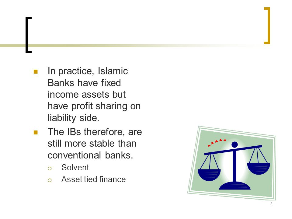 8 While a majority of Islamic banks have excess liquidity Some Islamic banks have faced liquidity crisis Many different risks culminate in liquidity risk