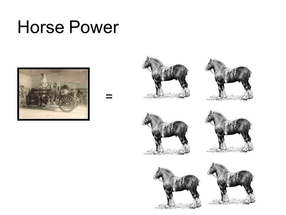 Horse Power =