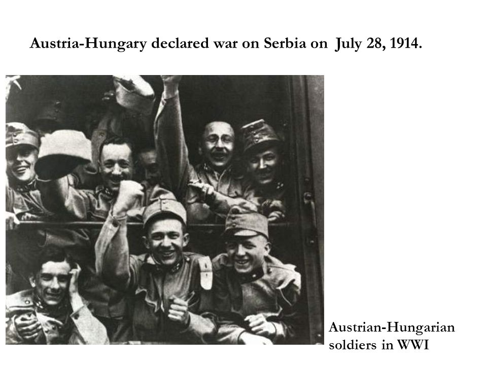 Results of the incident Austria-Hungary believed the incident provided a good chance to crush Serbia.
