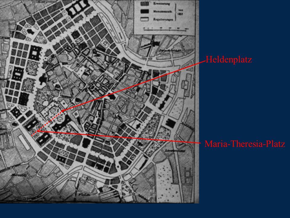 Heldenplatz Maria-Theresia-Platz