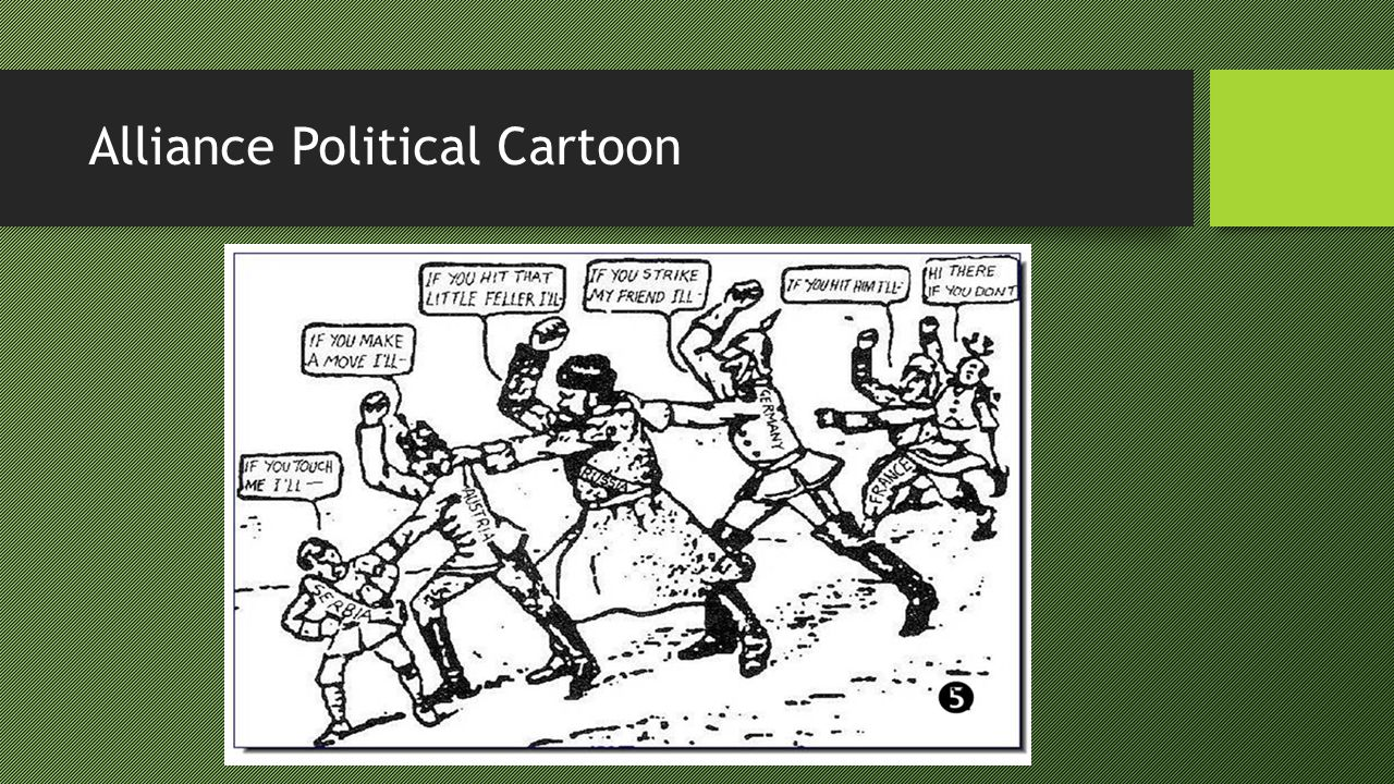 Alliance Political Cartoon