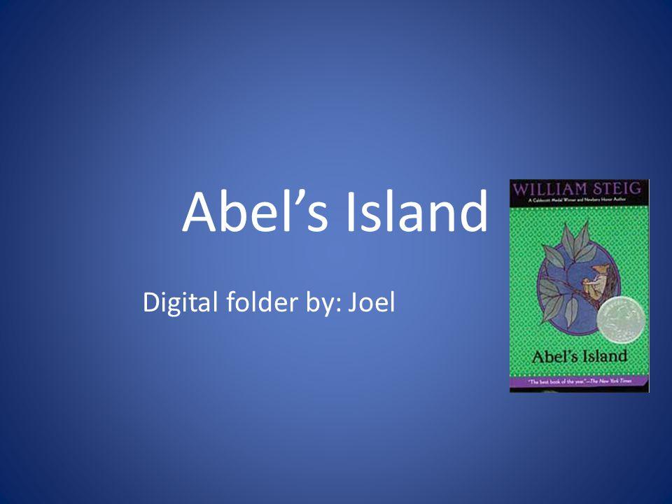 Abel's Island Digital folder by: Joel