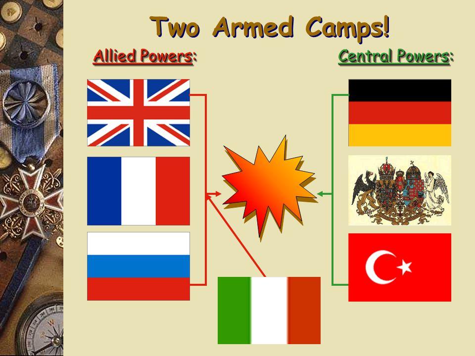 1. The Alliance System Triple Entente: Triple Alliance:
