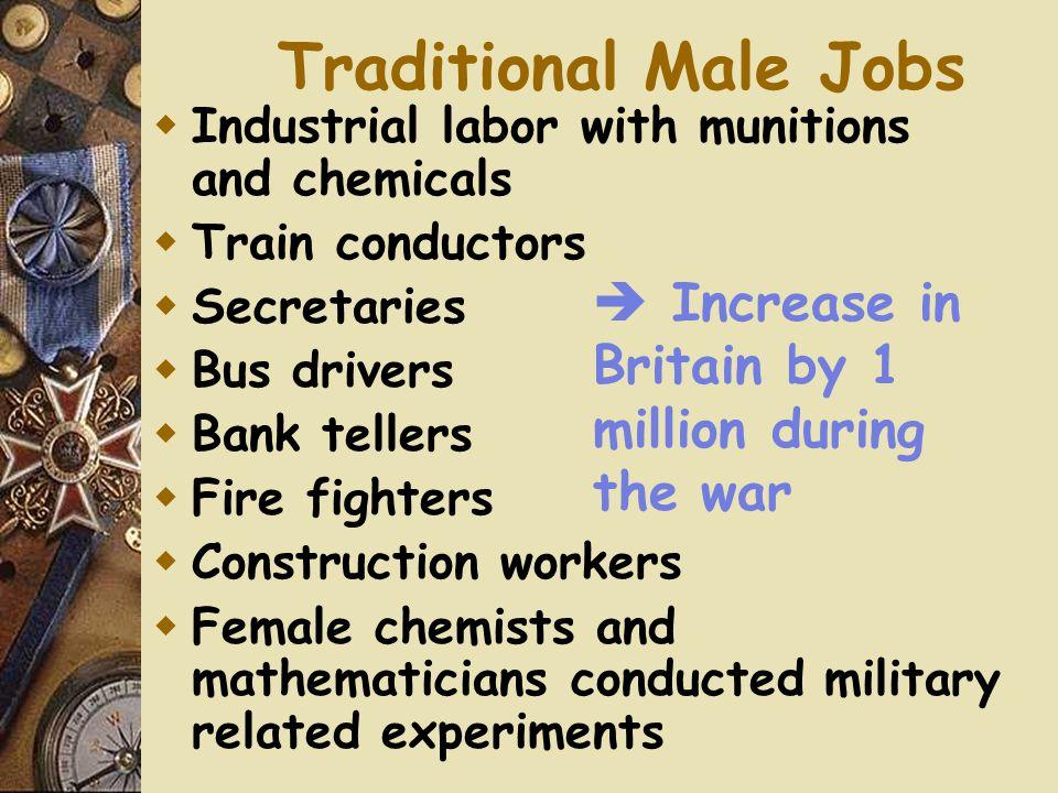 New Jobs for Women  Role of women in W.