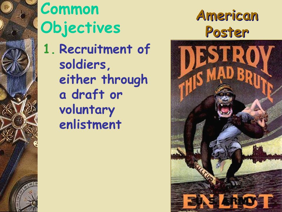 Posters: Wartime Propaganda