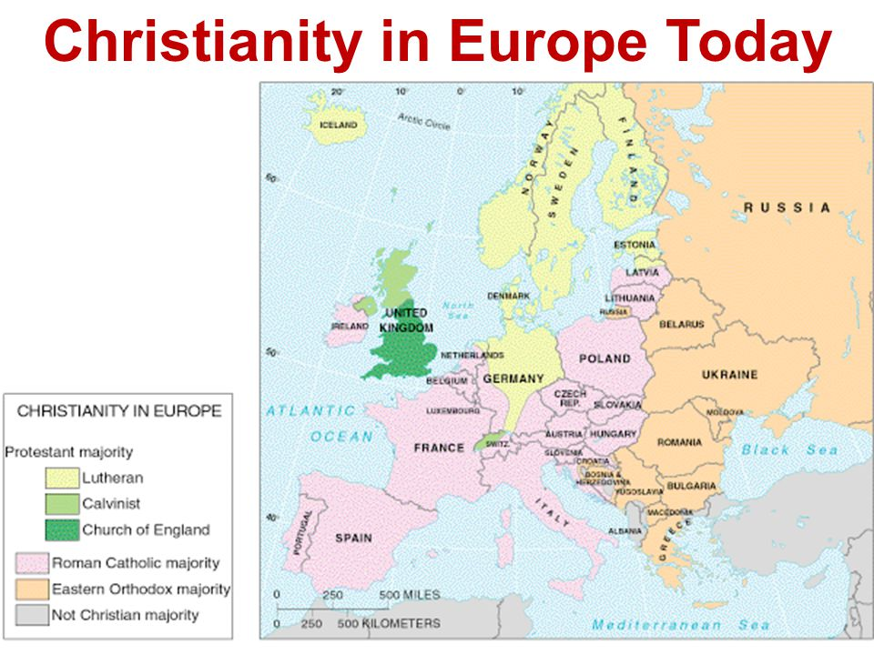 Christianity in Europe Today