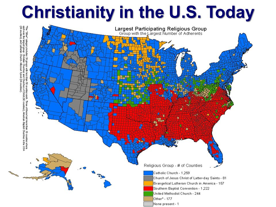 Christianity in the U.S. Today