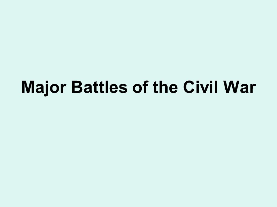 The Civil War ENDS The Election of 1864 1)Lincoln re-elected for 2 nd term IT'S OVER.
