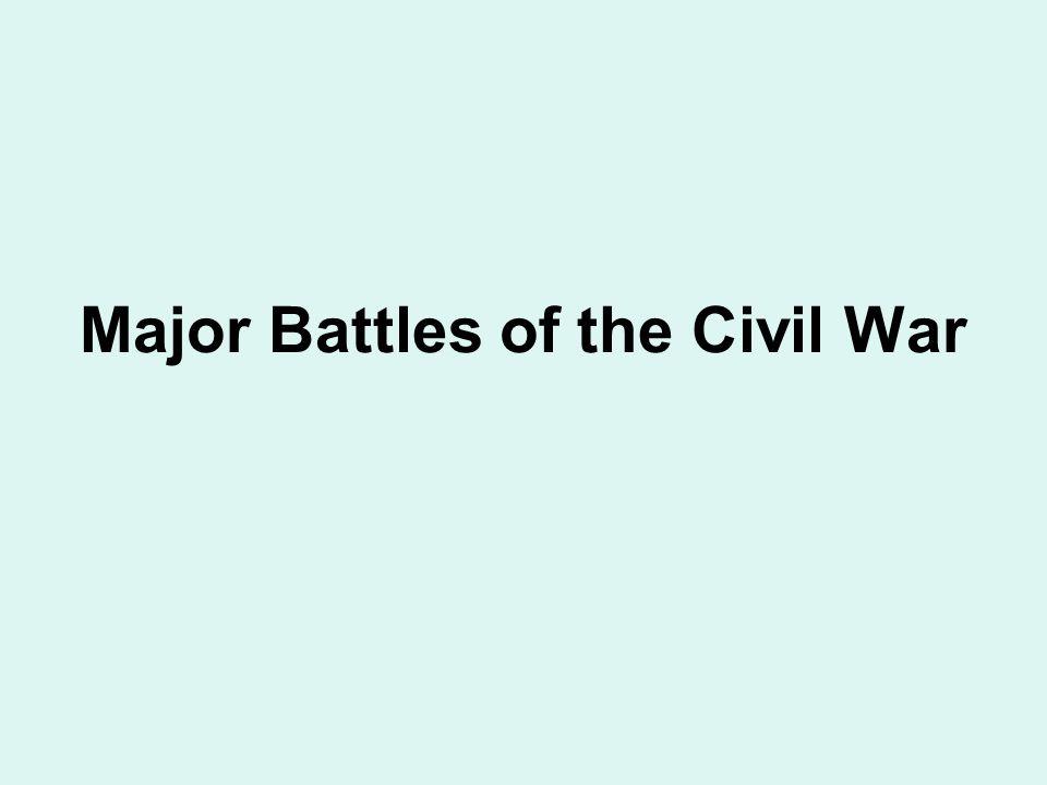 Ft Sumter April 12, 1861 Charleston Harbor – Charleston, S.C. Union surrendered the fort