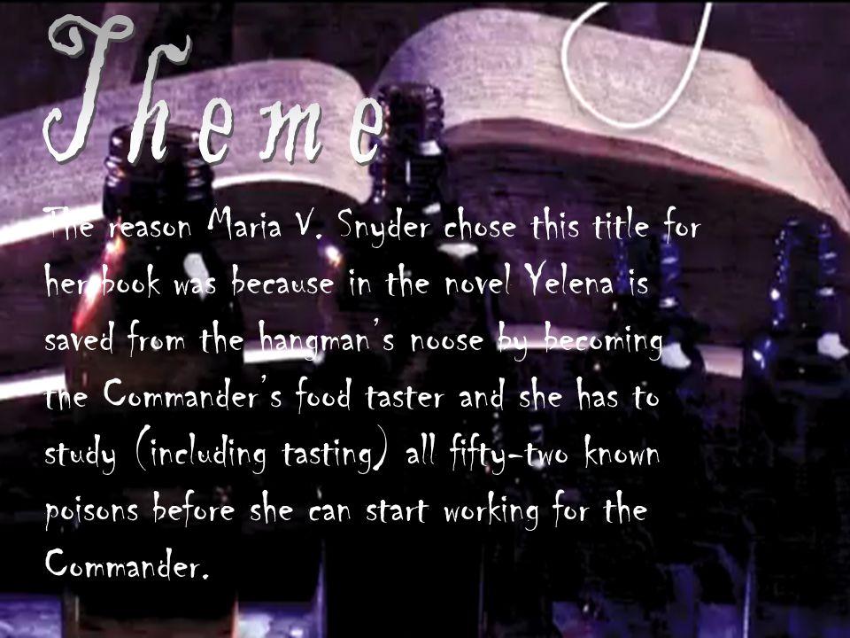 The reason Maria V.