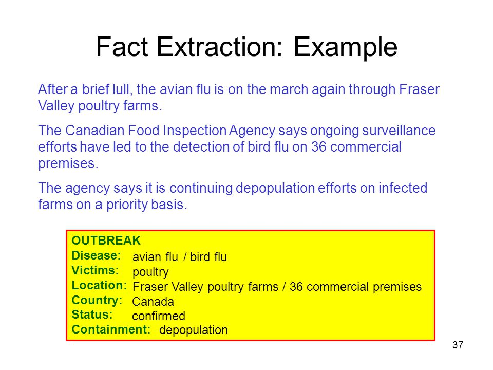 37 After a brief lull, the avian flu is on the march again through Fraser Valley poultry farms. The Canadian Food Inspection Agency says ongoing surve