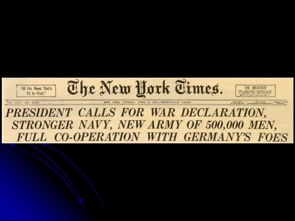 America Declares War!!!