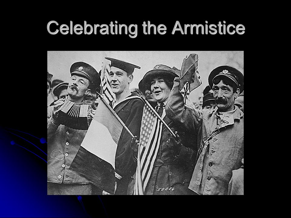 News of Armistice