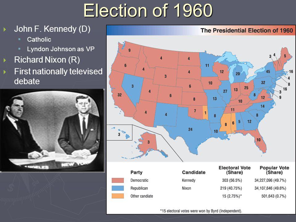 Election of 1960   John F.