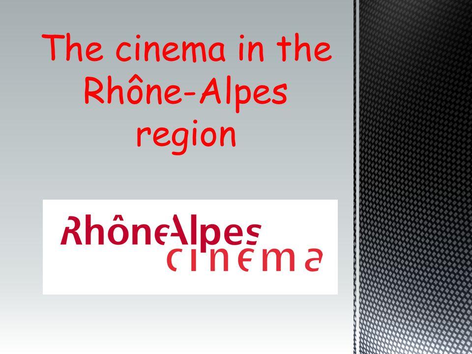 The cinema in the Rhône-Alpes region
