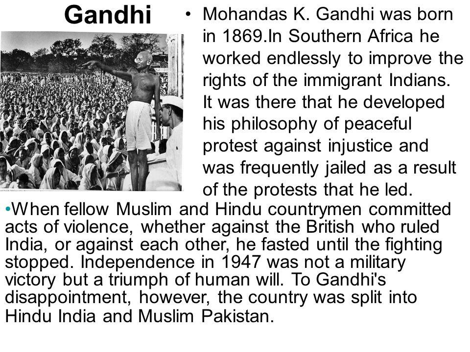 Gandhi Mohandas K.