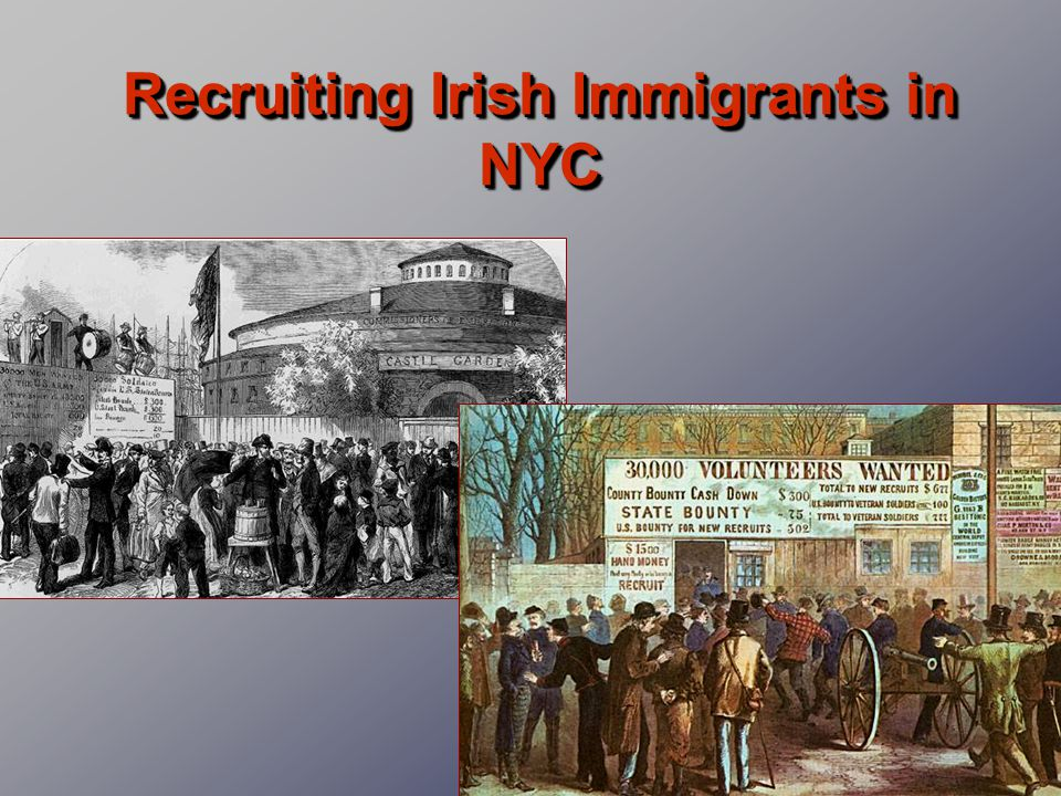 Recruiting Irish Immigrants in NYC