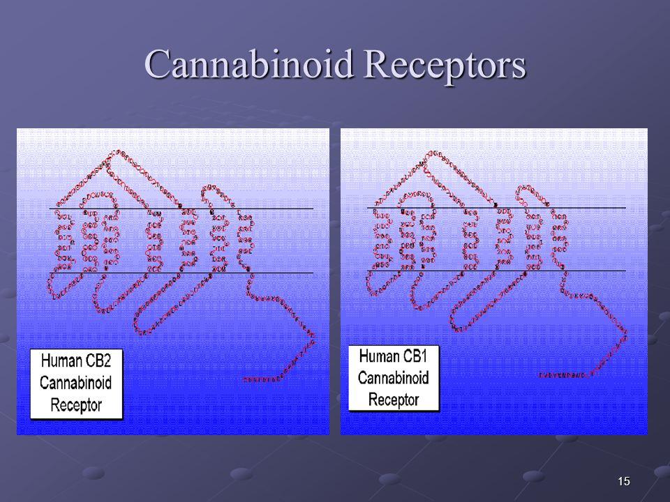 15 Cannabinoid Receptors