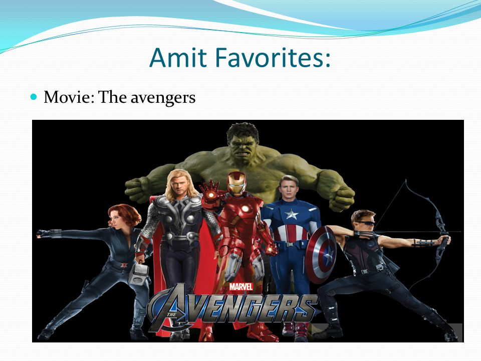 Amit Favorites: Movie: The avengers