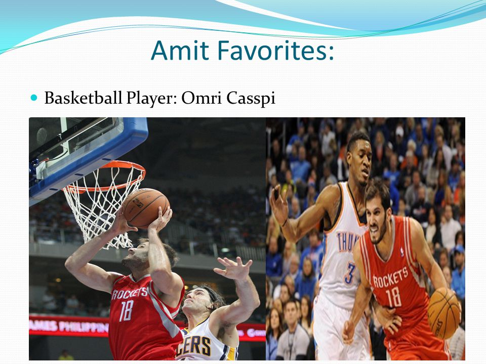 Amit Favorites: Basketball Player: Omri Casspi