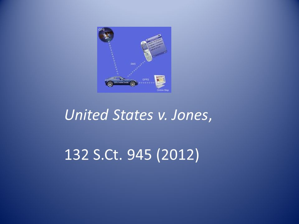 United States v. Jones, 132 S.Ct. 945 (2012)